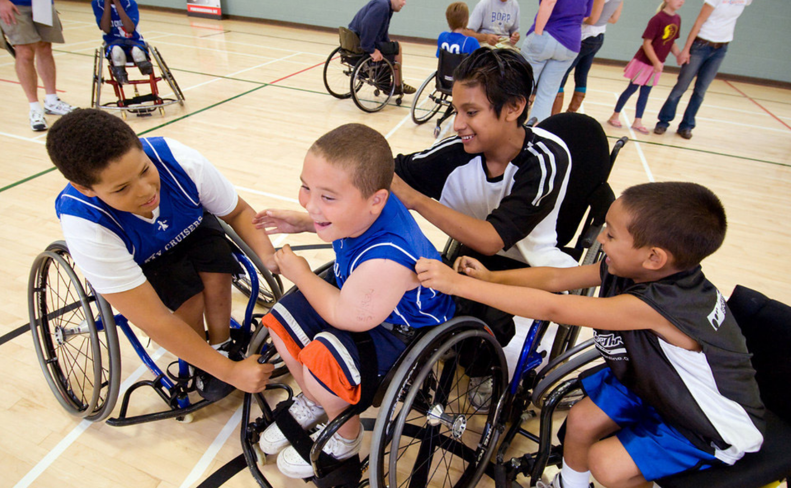 Quality Sport Programs : Wheelchair Basketball